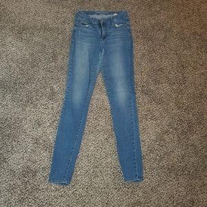 Old Navy Rockstar Mid Rise Skinny Jeans 8L